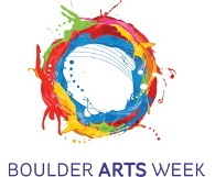 Boulder Arts Week logo