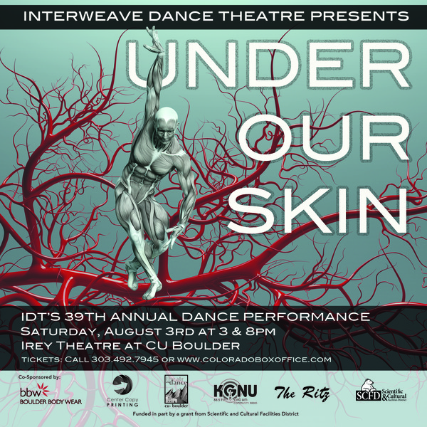 Dance Performance: Under Our Skin | Boulder County Arts Alliance